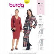 6365 Burda Pattern: Misses' Dresses